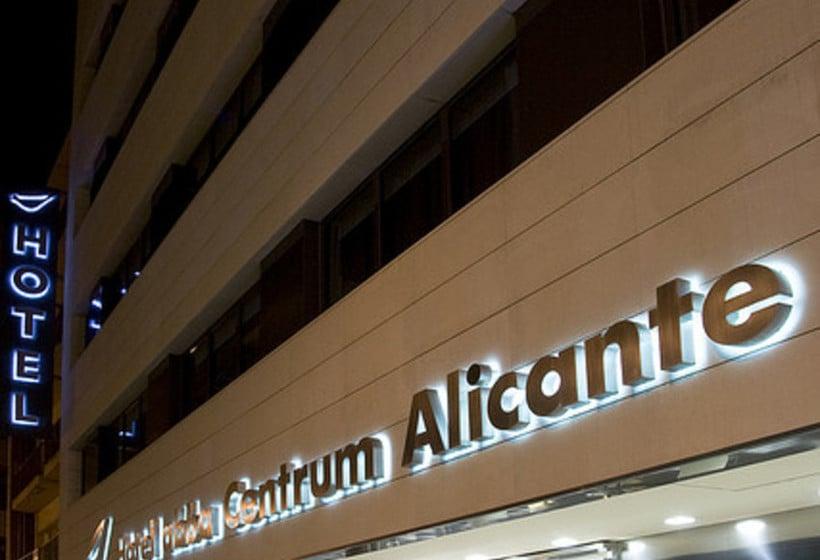 Outside Hotel Abba Centrum Alicante