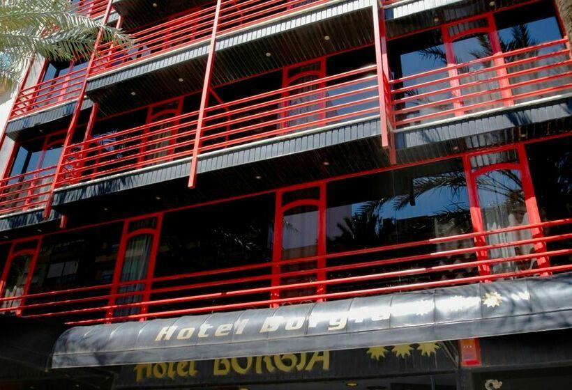 Outside Hotel Borgia Gandia