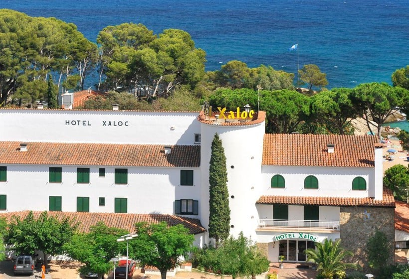 Outside Hotel GHT Xaloc Platja d'Aro