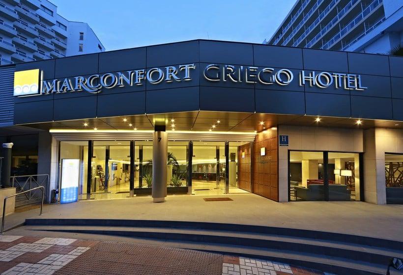 Outside Hotel Marconfort Griego Torremolinos