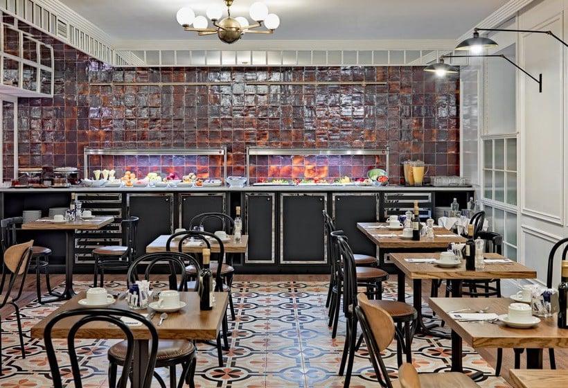 Restaurant H10 Villa de la Reina Boutique Hotel Madrid