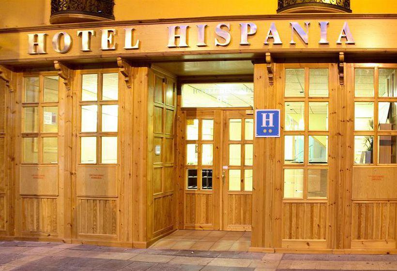 Hotel Hispania Saragossa