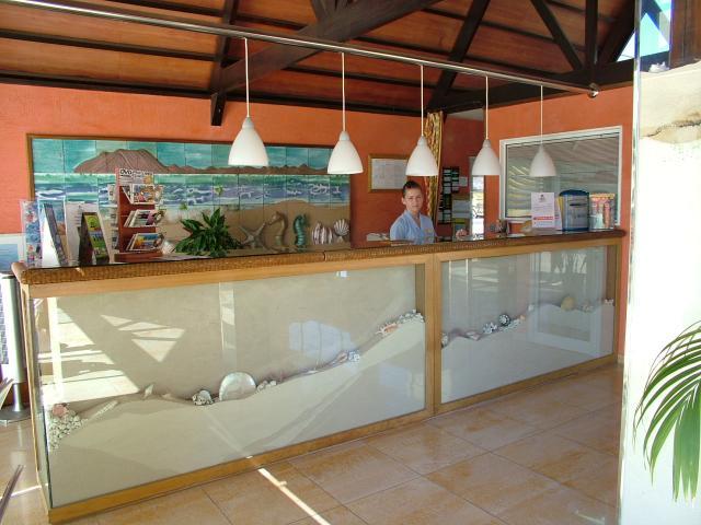 Front desk Hotel Arena Corralejo