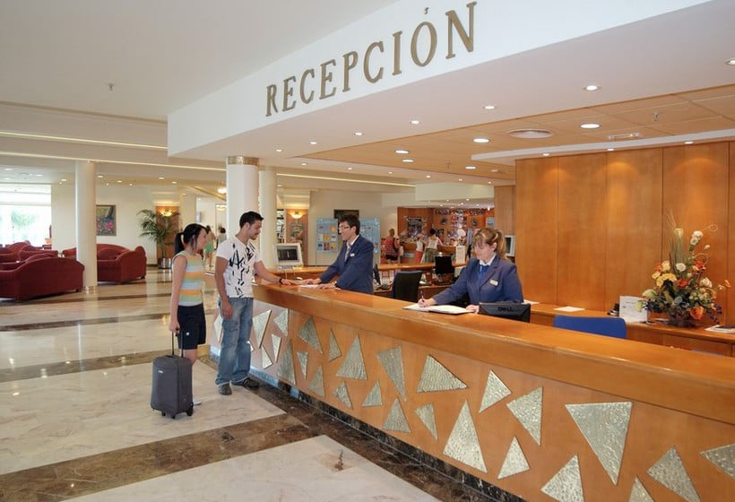 Reception Hotel MedPlaya Flamingo Oasis Benidorm