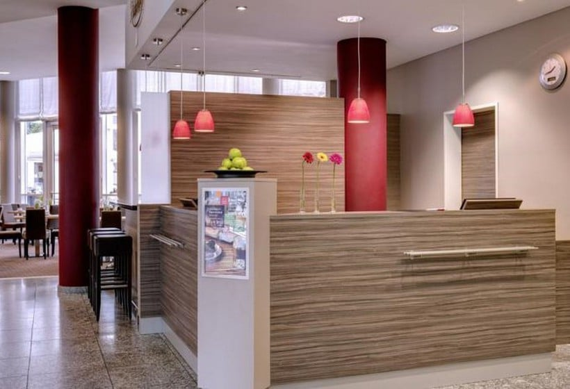 Front desk Hotel Park Inn By Radisson Dresden