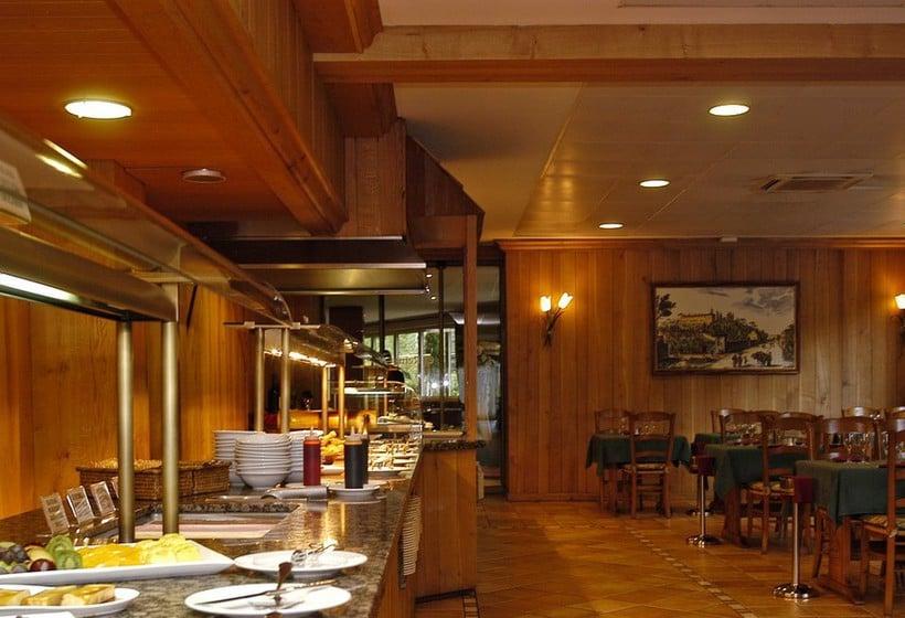 رستوران هتل Tropical Les Escaldes-Engordany