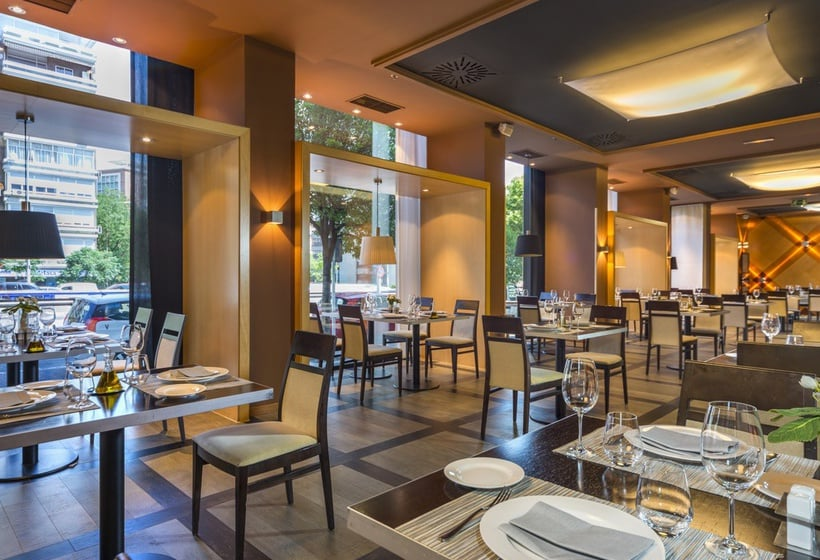 Restaurant Hotel Abba Madrid
