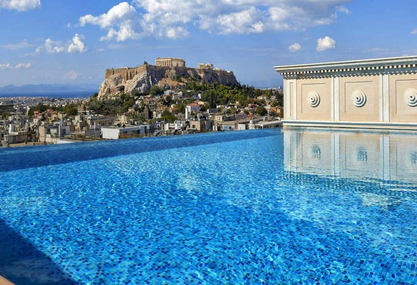 Swimming pool Hotel King George Palace Athens