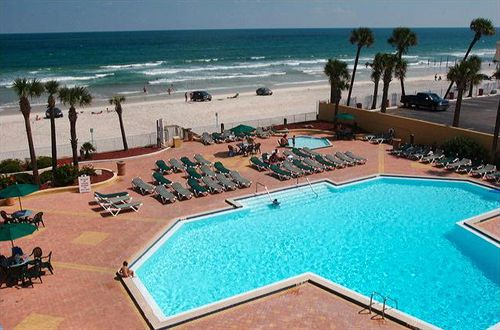 Swimming pool Hotel Ocean Breeze Club Daytona Beach