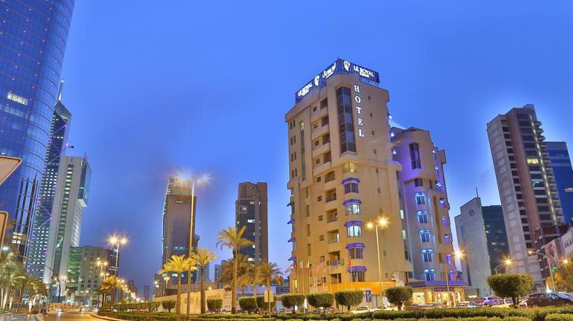 Outside Hotel Le Royal Express Sharq Kuwait