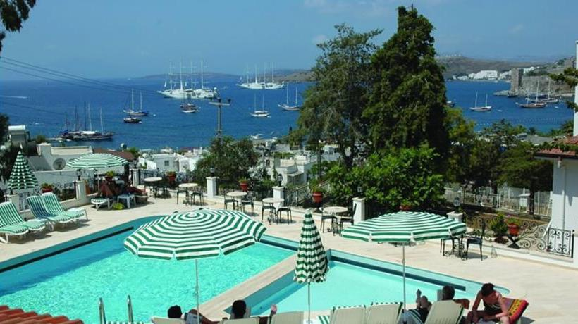 Swimming pool Hotel Comca Manzara Bodrum