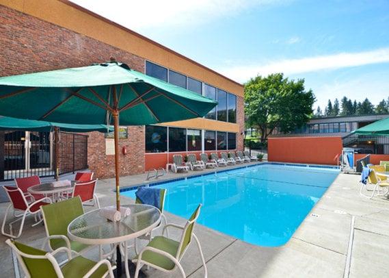 hotel quality inn downtown 4th avenue a spokane a partire. Black Bedroom Furniture Sets. Home Design Ideas