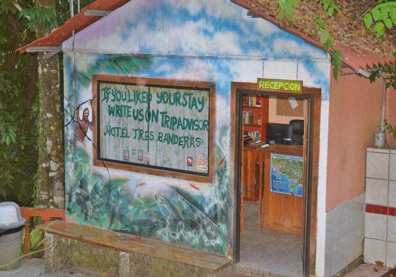 Tres Banderas Hotel Quepos