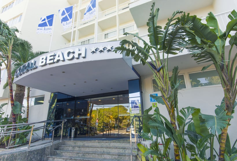 Exterior AzuLine Hotel Coral Beach Es Cana
