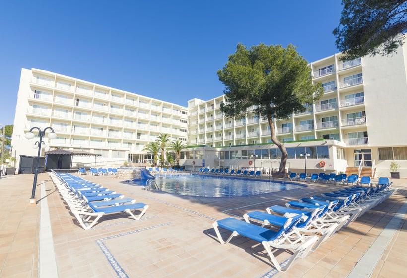Piscina AzuLine Hotel Coral Beach Es Cana