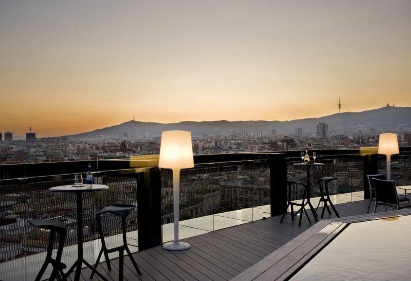Terrace Hotel Barceló Raval Barcelona