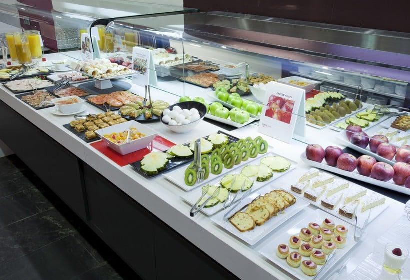 Restaurant Hotel Ilunion Atrium Madrid