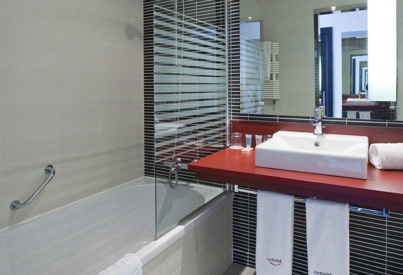 Bathroom Hotel Ilunion Atrium Madrid