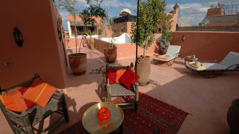 Terrace Riad Itrane Marrakesh