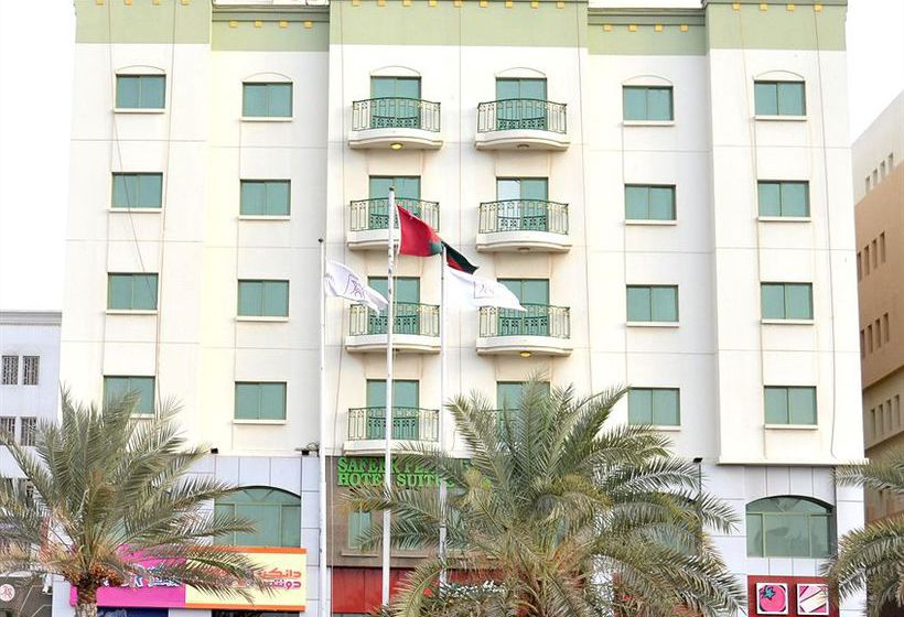 Outside Hotel Safeer Plaza Muscat