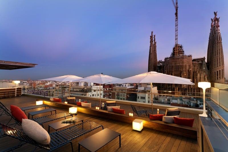 Terrace Hotel Ayre Rosellón Barcelona