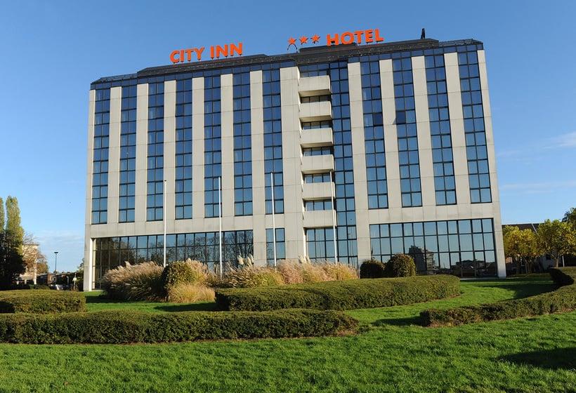 Outside Hotel City Inn Luxe Antwerpen