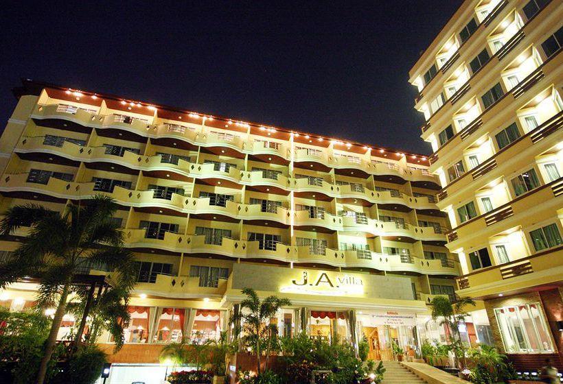 J a villa pattaya hotel отель