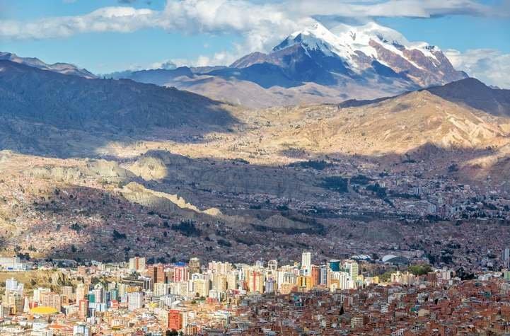 Cheap Flights Cochabamba La Paz From 52 Destinia