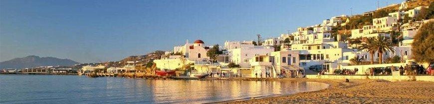 Atenas y Mikonos