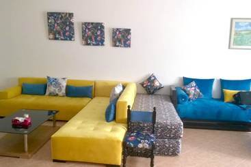House With 3 Bedrooms In Skhirat, With Pool Access, Enclosed Garden And Wifi - Skhirat