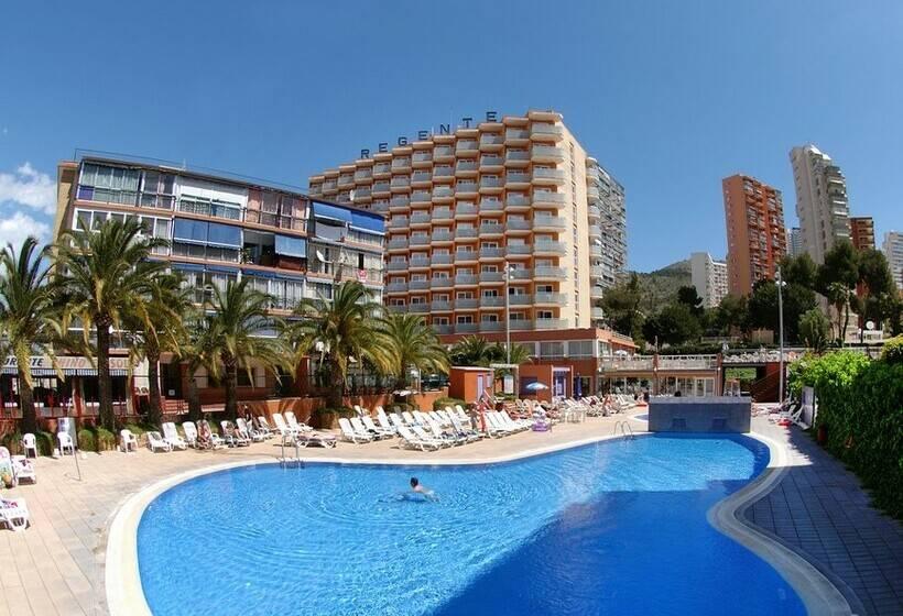 Hotel medplaya regente en benidorm destinia - Hoteles con piscina cubierta en benidorm ...