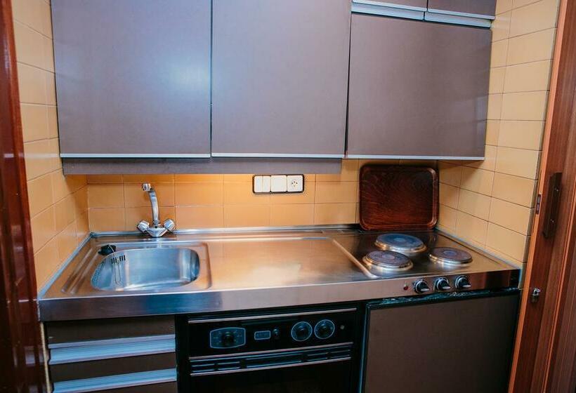 Cocina Apartamentos Augusta Barcelona