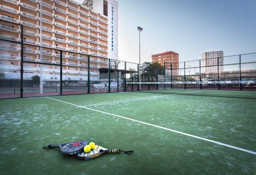 Instalaciones deportivas Hotel Izán Cavanna La Manga del Mar Menor
