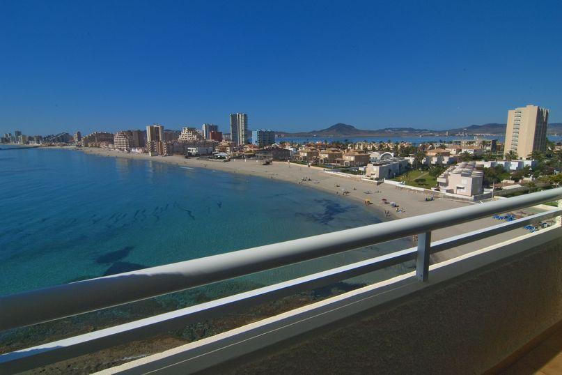 Terraza Hotel Servigroup Galúa La Manga del Mar Menor
