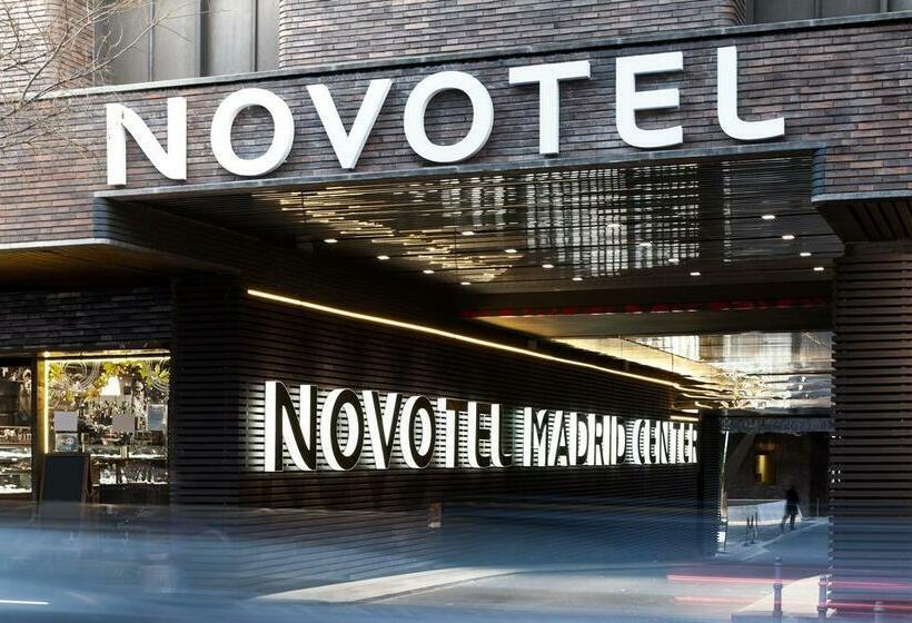 Exterior Novotel Madrid Center