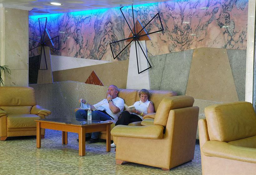 Zonas comunes Hotel H Top Molinos Park Salou