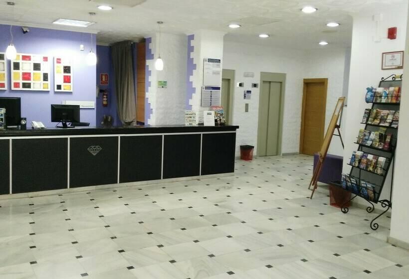 Recepción Hotel Kristal Torremolinos