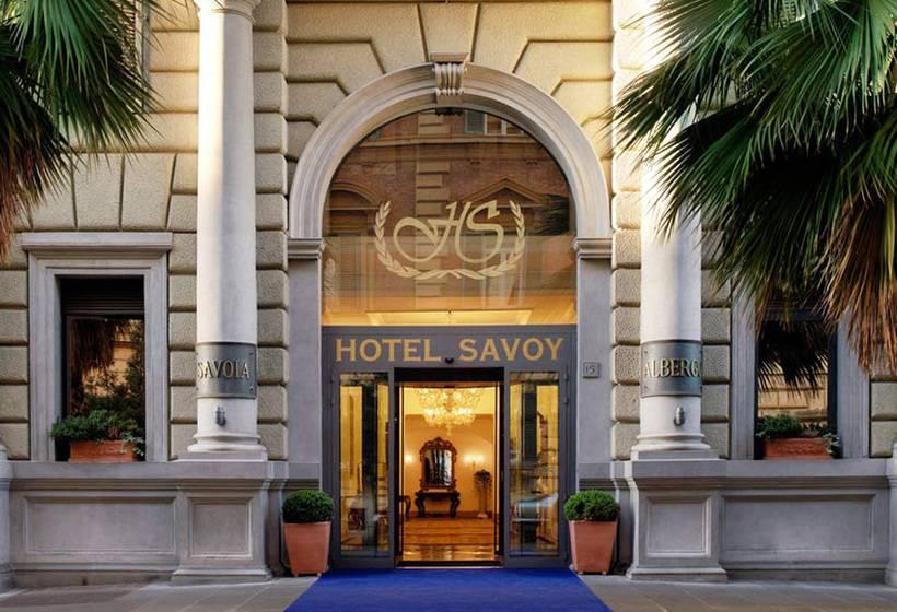 Exterior Hotel Savoy Roma