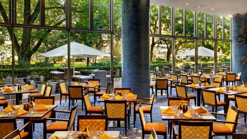 Terraza Hotel Hilton Frankfurt