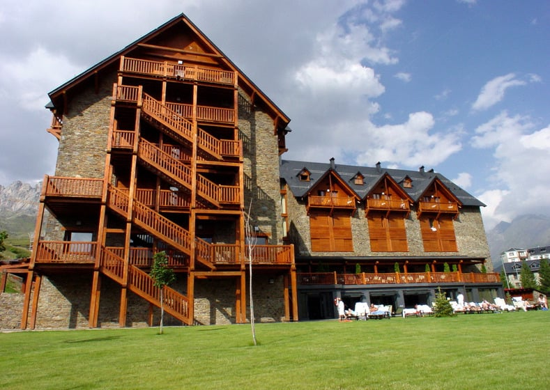Exterior Hotel Saliecho Formigal