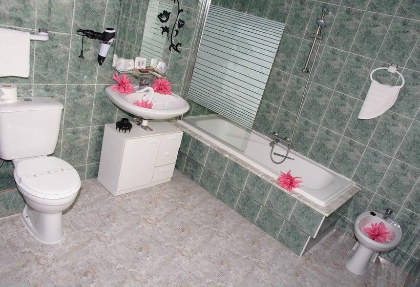 Cuarto de baño Hotel Ancora Finisterre