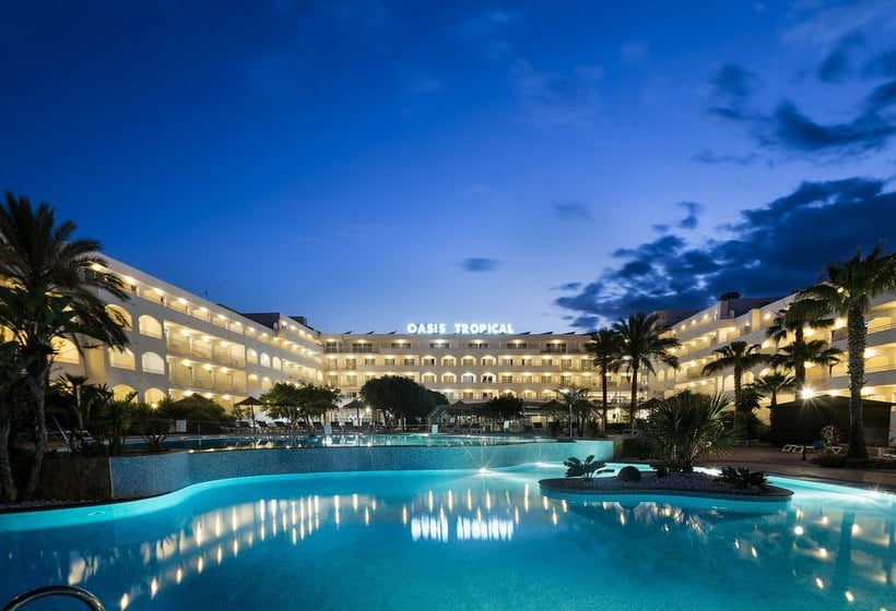 Piscina Hotel Best Oasis Tropical Mojácar