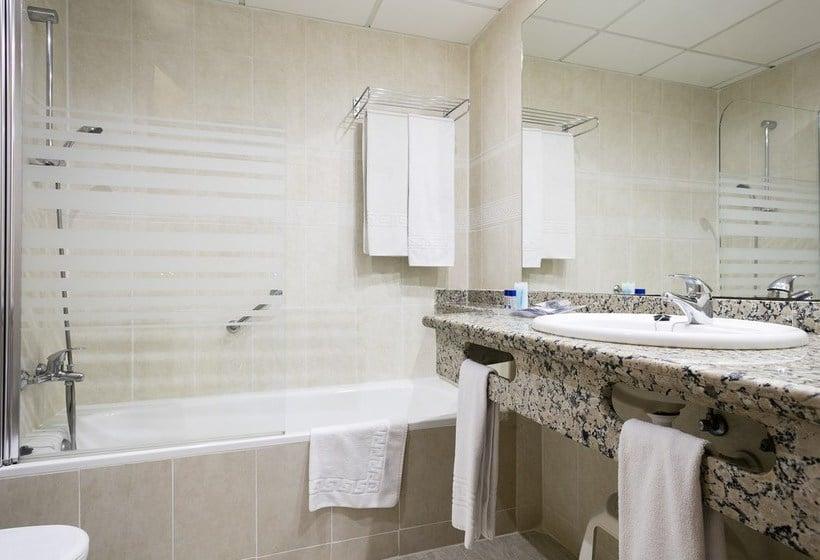Cuarto de baño Hotel Best Oasis Tropical Mojácar