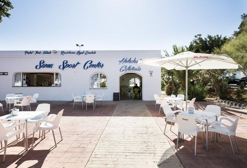 Terraza Hotel Best Oasis Tropical Mojácar