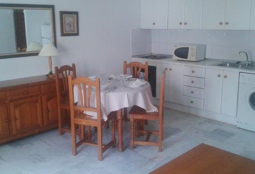 Cocina Apartamentos Vera Coast