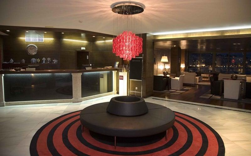 Recepción Gran Talaso Hotel Sanxenxo