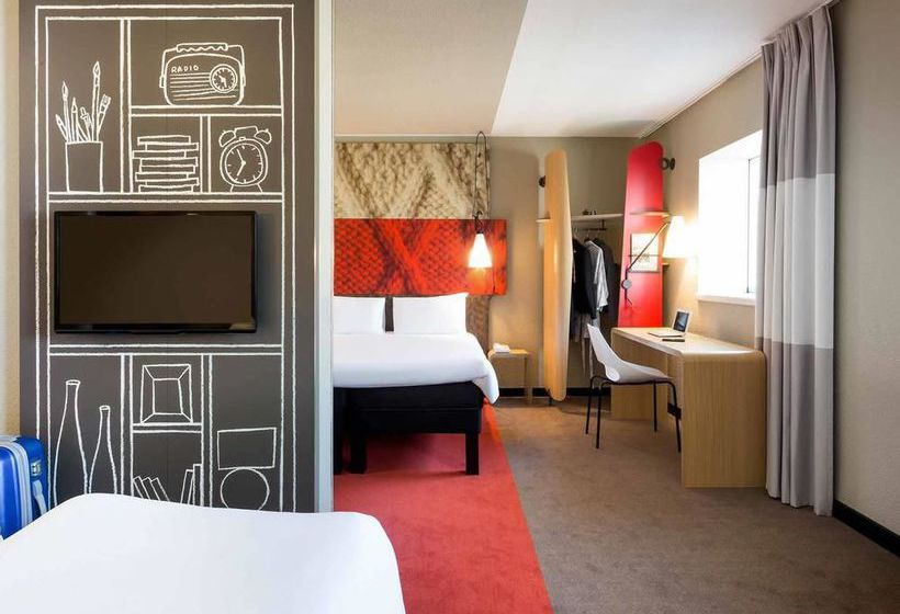 hotel ibis rennes centre gare sud en rennes destinia. Black Bedroom Furniture Sets. Home Design Ideas