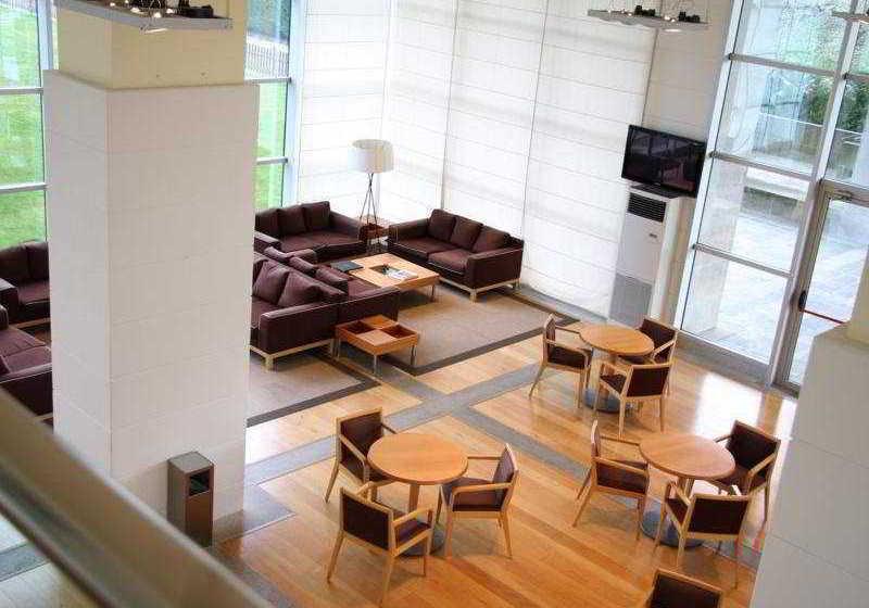 Zonas comunes Hotel Eurostars San Lazaro Santiago de Compostela