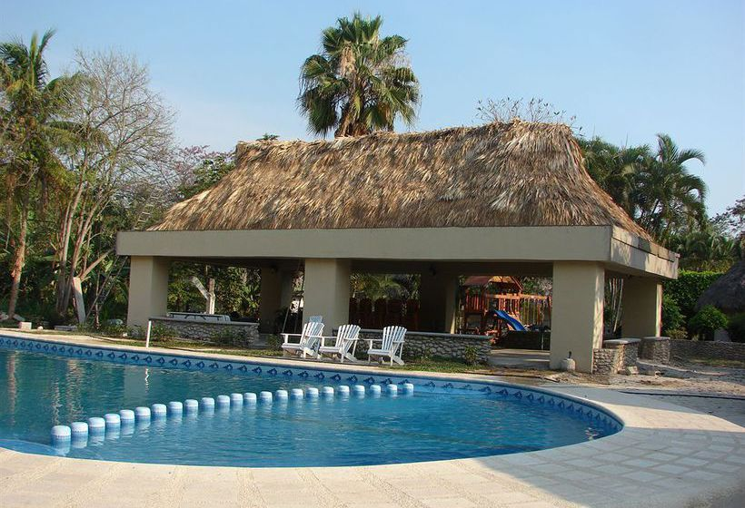 Hotel villas kin ha en palenque destinia for Villas kin ha