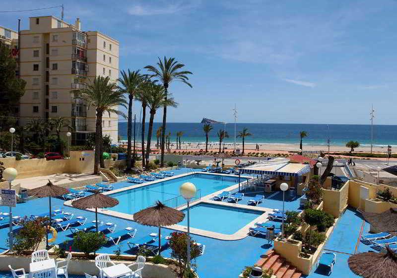 hotel poseidon playa en benidorm desde 25 destinia